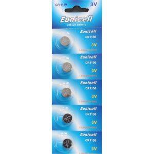 CR1130 Lithium Battery 3V Pack of 5