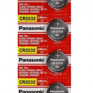 panasonic cr2032 battery pack of 5