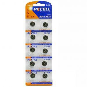 AG6 Battery Pack of 10 Alkaline 1.5V