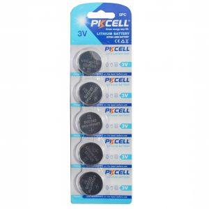 5 Pack CR2325 Battery Lithium 3V