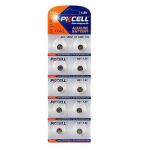 LR621 Battery Pack of 10 Alkaline 1.5V