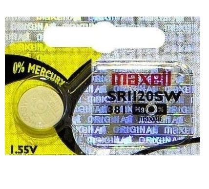 Maxell SR1120SW Battery Silver Oxide