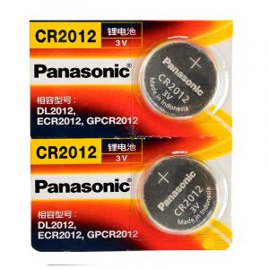 2 Pack CR2012 Battery Lithium 3V