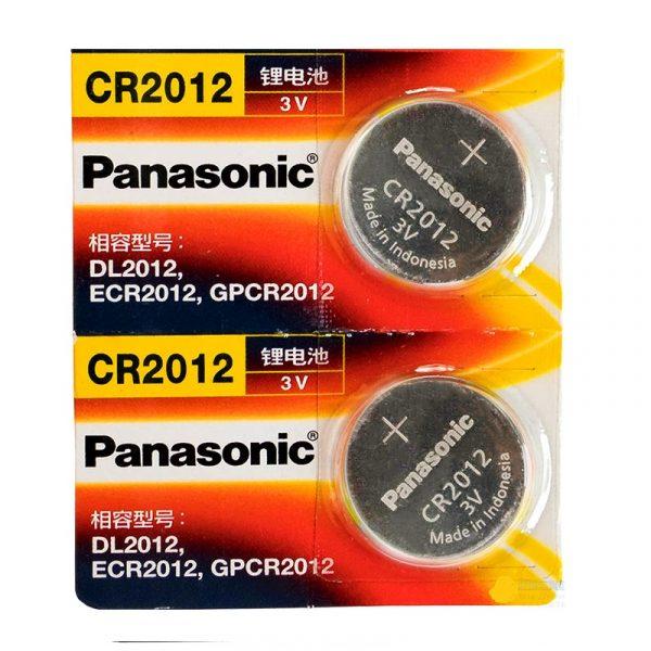 2 Pack CR2012 Battery Lithium 3V