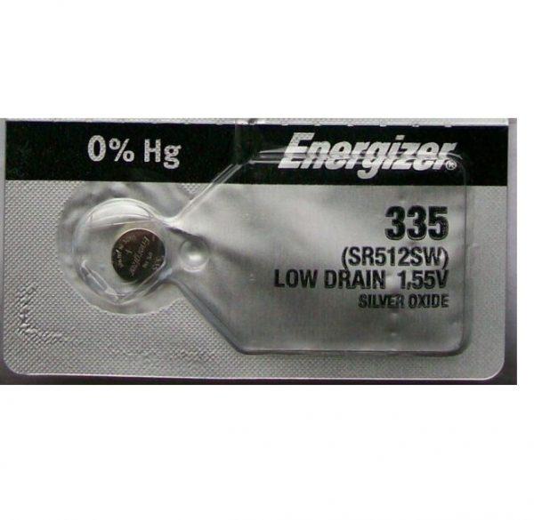 Energizer SR512SW Battery Silver Oxide
