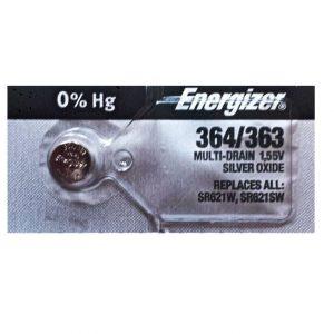 Energizer SR621SW Battery Silver Oxide