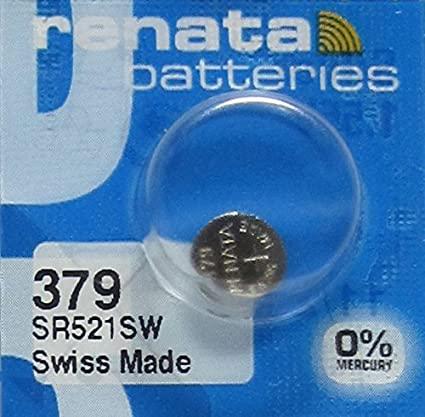 Renata SR521SW Battery Silver Oxide