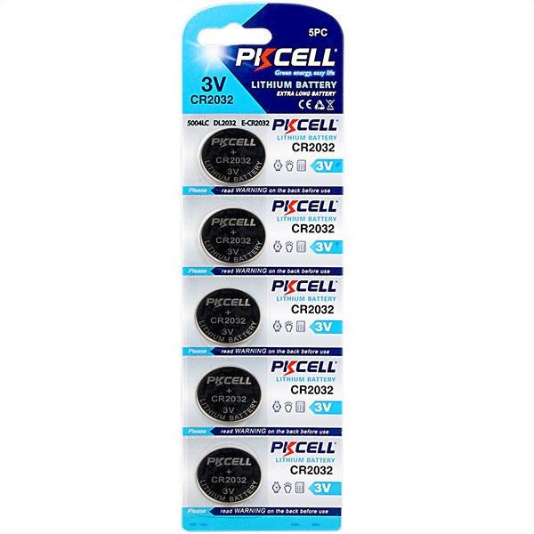 CR2032 battery pkcell