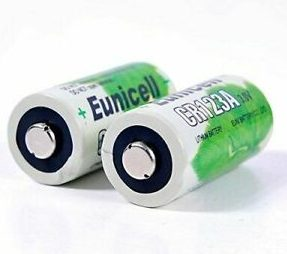 cr123a battery eunicell