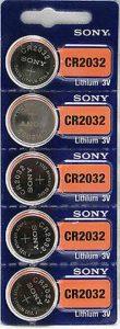 sony cr2032 battery