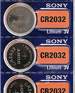 sony cr2032 battery